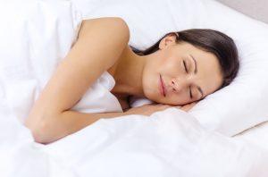 sleepingwomanhappy